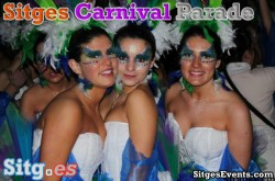 Carnaval De Sitges Tuesday 25th Parade 2020