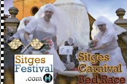 Sitges Carnival Bed Race